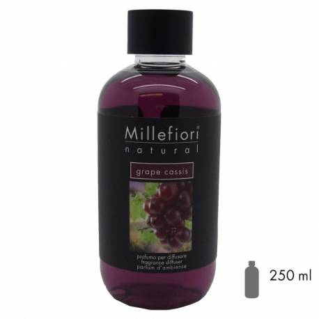 Grape Cassis Millefiori Natural Refill 250 ml