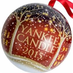 Yankee Candle Christbaumkugel 2015