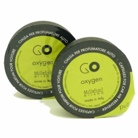 Oxygen Refill GO – Autoduft Millefiori 2er Pack