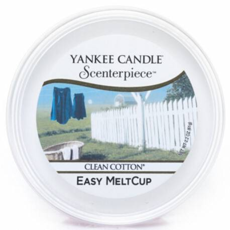 Yankee Candle Easy MeltCup Clean Cotton