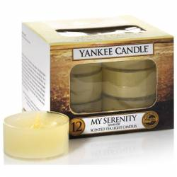 Yankee Candle Teelichter 12er Pack My Serenity