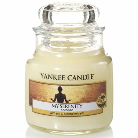 Yankee Candle Jar Glaskerze klein 104g My Serenity