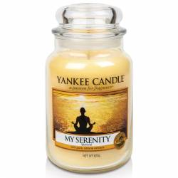 Yankee Candle Jar Glaskerze groß 623g My Serenity