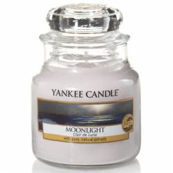 Yankee Candle Jar Glaskerze klein 104g Moonlight