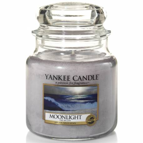 Yankee Candle Jar Glaskerze mittel 411g Moonlight