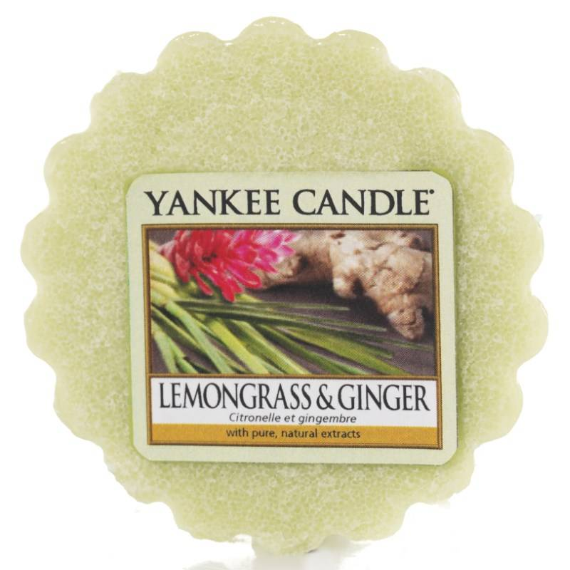 yankee candle tart melt lemongrass ginger. Black Bedroom Furniture Sets. Home Design Ideas