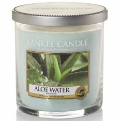 Yankee Candle 1 Docht Regular Tumbler Glaskerze klein 198g Aloe Water