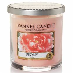 Yankee Candle 1 Docht Regular Tumbler Glaskerze klein 198g Peony
