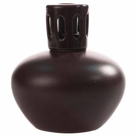 Katalytische Duftlampe Millefiori Lampair Keramik klein braun