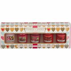 Yankee Candle Geschenk-Set Valentins Sampler / Votive 5er