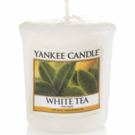 Yankee Candle Sampler Votivkerze White Tea