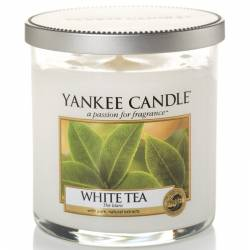 Yankee Candle 1 Docht Regular Tumbler Glaskerze klein 198g White Tea