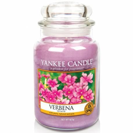 Yankee Candle Jar Glaskerze groß 623g Verbena
