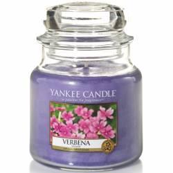 Yankee Candle Jar Glaskerze mittel 411g Verbena