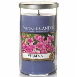 Yankee Candle Pillar Glaskerze mittel 340g Verbena