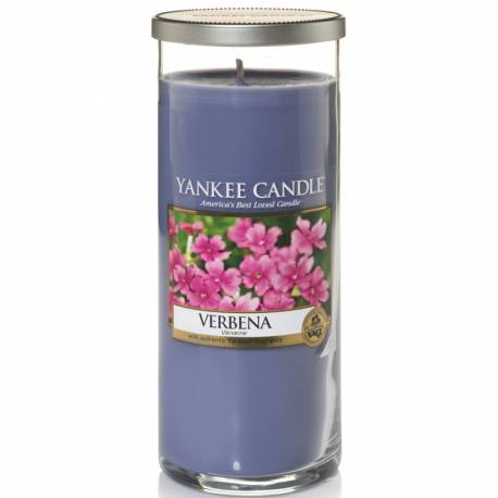 Yankee Candle Pillar Glaskerze gross 566g Verbena