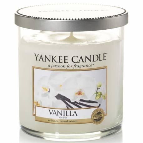 Yankee Candle 1 Docht Regular Tumbler Glaskerze klein 198g Vanilla