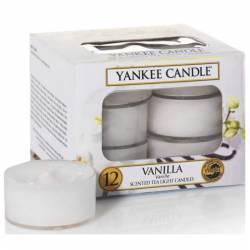Yankee Candle Teelichter 12er Pack Vanilla