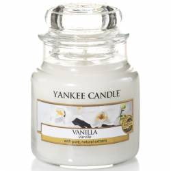 Yankee Candle Jar Glaskerze klein 104g Vanilla