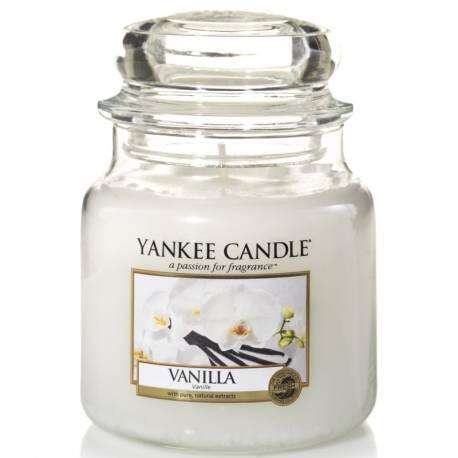 Yankee Candle Jar Glaskerze mittel 411g Vanilla