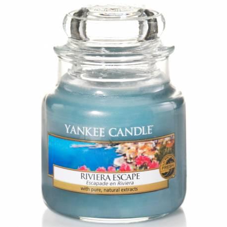 Yankee Candle Jar Glaskerze klein 104g Riviera Escape