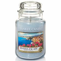 Yankee Candle Jar Glaskerze groß 623g Riviera Escape