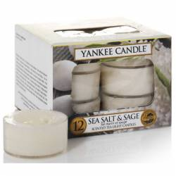 Yankee Candle Teelichter 12er Pack Sea Salt & Sage