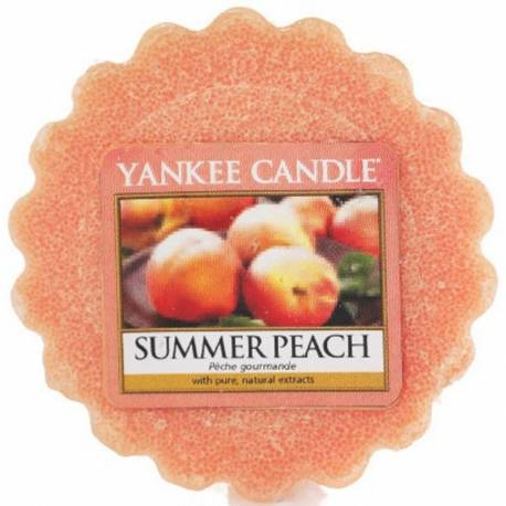Yankee Candle Tart / Melt Summer Peach