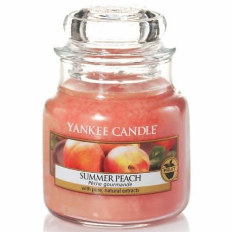 Yankee Candle Jar Glaskerze klein 104g Summer Peach