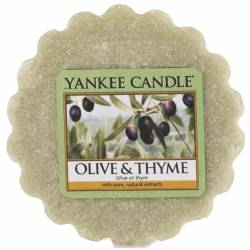 Yankee Candle Tart / Melt Olive & Thyme