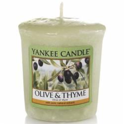 Yankee Candle Sampler Votivkerze Olive & Thyme