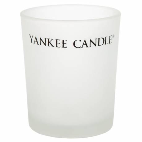 Yankee Candle Glass YC Votivhalter satiniert