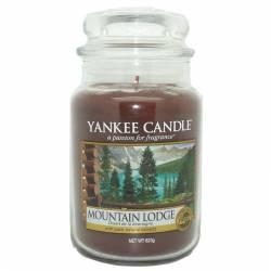 Yankee Candle Jar Glaskerze groß 623g Mountain Lodge