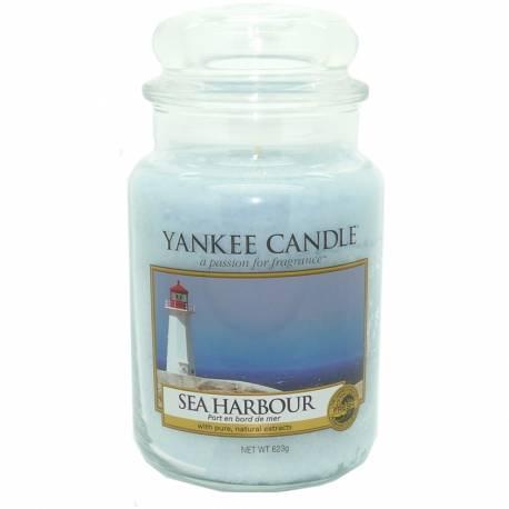 Yankee Candle Jar Glaskerze groß 623g Sea Harbor