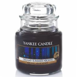 Yankee Candle Jar Glaskerze klein 104g Dreamy Summer Nights