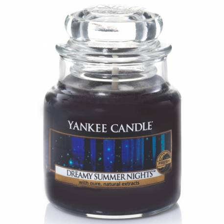 Yankee Candle Jar Glaskerze klein 104g Dreamy Summer Nights