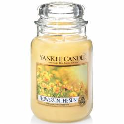 Yankee Candle Jar Glaskerze groß 623g Flowers in the Sun
