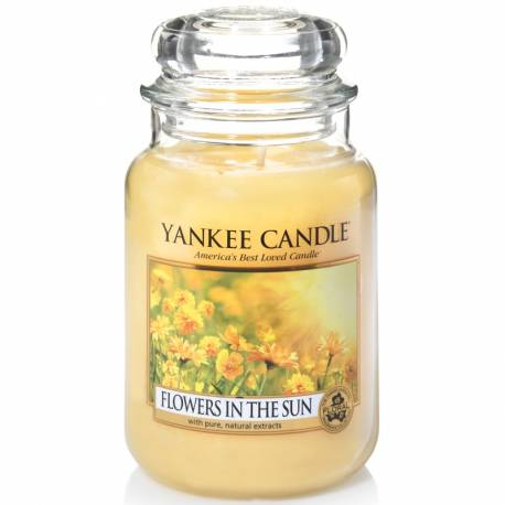 Yankee Candle Jar Glaskerze groß 623g Flowers in the Sun
