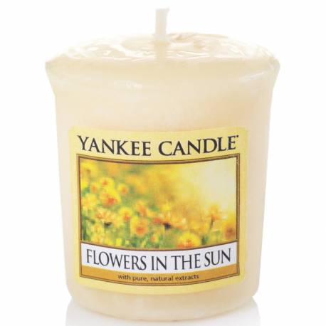 Yankee Candle Sampler Votivkerze Flowers in the Sun
