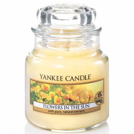 Yankee Candle Jar Glaskerze klein 104g Flowers in the Sun