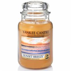 Yankee Candle Jar Glaskerze groß 623g Sunset Breeze