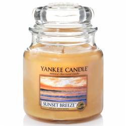Yankee Candle Jar Glaskerze mittel 411g Sunset Breeze