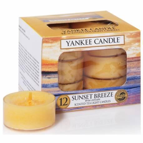 Yankee Candle Teelichter 12er Pack Sunset Breeze