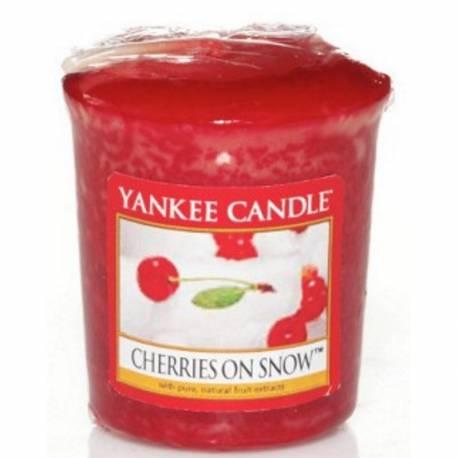 Yankee Candle Sampler Votivkerze Cherries On Snow