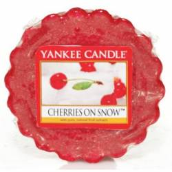 Yankee Candle Tart / Melt Cherries On Snow
