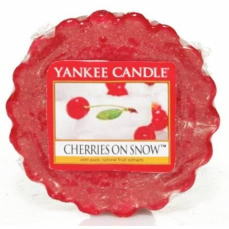 Yankee Candle Tart / Melt Cherries On Snow