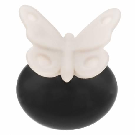 Diffusor Schmetterling Lovely schwarz Millefiori