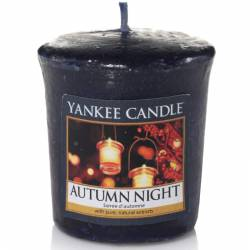 Yankee Candle Sampler Votivkerze Autumn Night