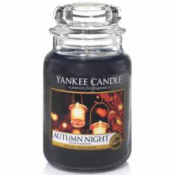 Yankee Candle Jar Glaskerze groß 623g Autumn Night