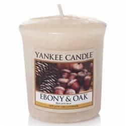 Yankee Candle Sampler Votivkerze Ebony & Oak
